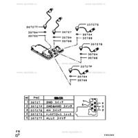 Transfer Case Switch 2WD & 4WD Position Mitsubishi Pajero