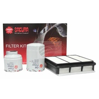 4x4 Filter Service Pack Mitsubishi Triton ML 2006 to 2008 4M41 3.2 CRD