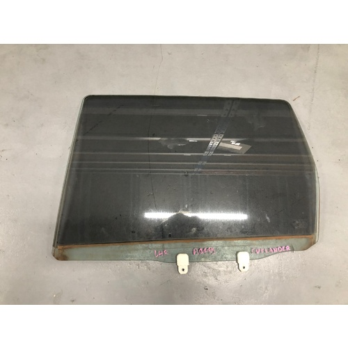 Rear Door Glass LHS to suit Mitsubishi Outlander 2009 ZH - USED